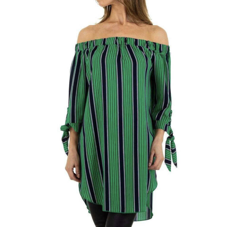 Dress Perfect Stripe Green