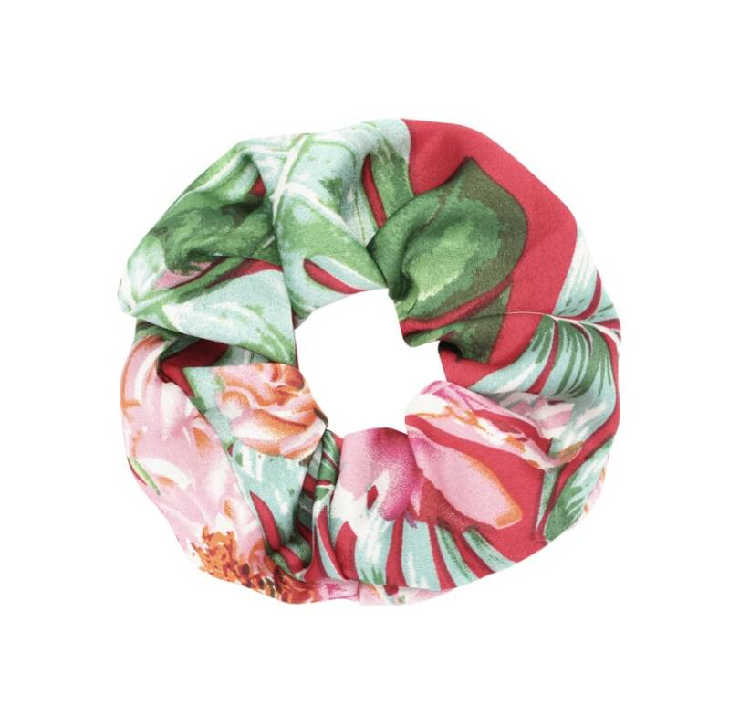Scrunchie happy flowers