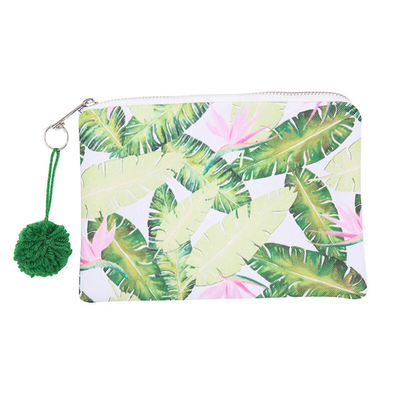 Make up tas Viva La Summer Green!