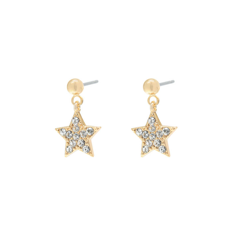 Earrings Stardom Gold Diamant