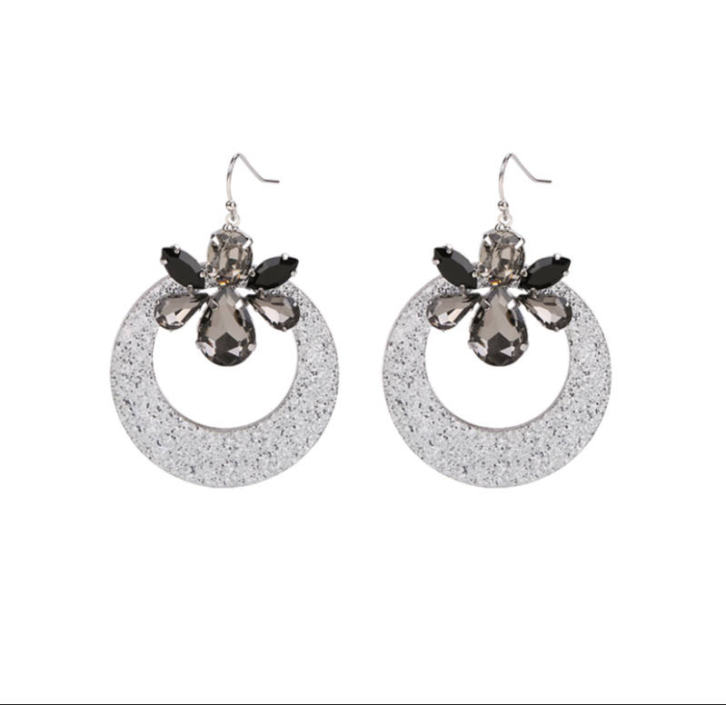 Earrings Choose To Shine Silver