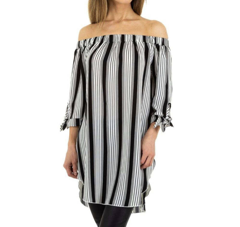 Dress Perfect Stripe Black
