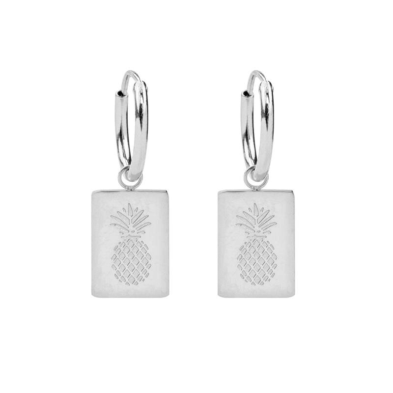 Earrings Aloha silver