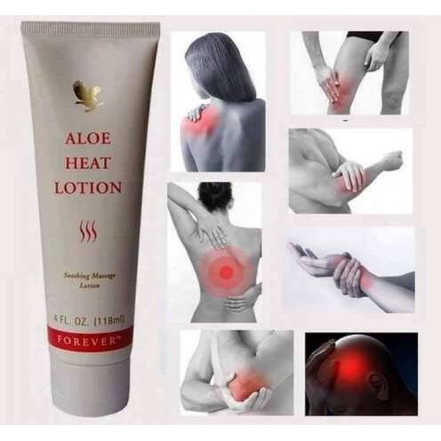 Aloe Heat Lotion ARTIKELNUMMER 64  INHOUD: 118 ML
