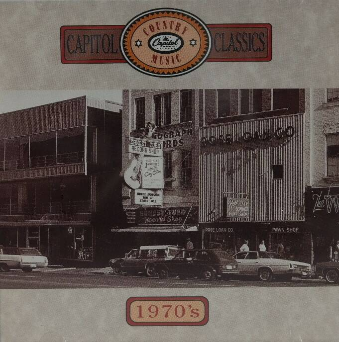 Diverse - Capitol country music classics 1970's