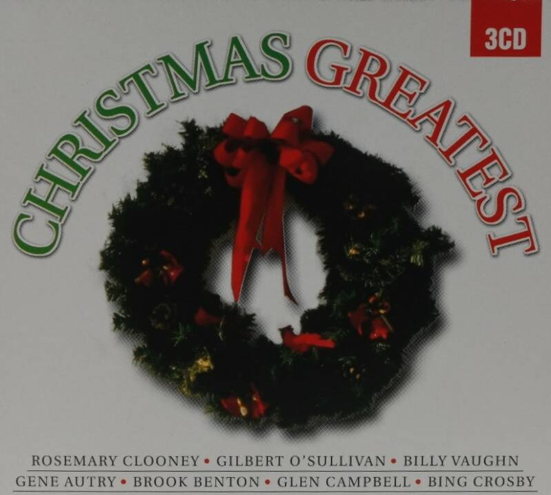 Diverse - Christmas greatest (3 CD's)
