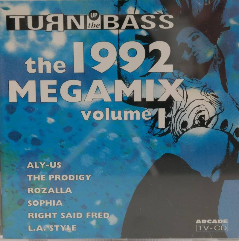 Diverse - Turn up the bass: The 1992 megamix volume 1