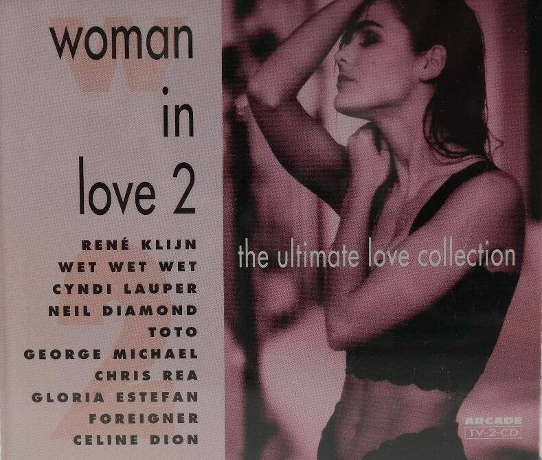 Diverse - Woman in love 2 (2 CD's)
