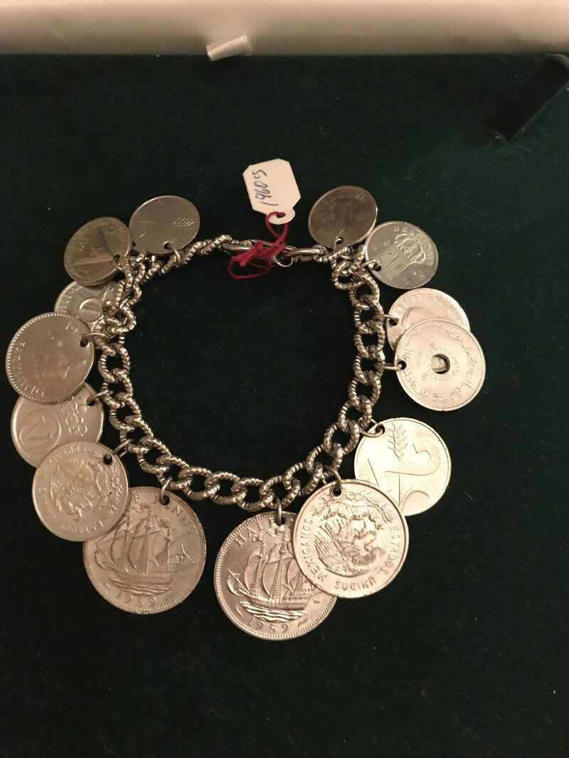 1960s Coin Bracelet Was €65 now €50