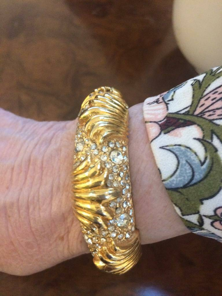 1980s Cartier Style Bangle