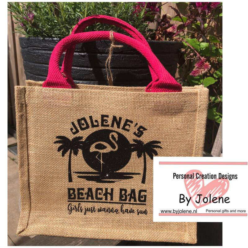 BEACH BAG FLAMINGO || TWINNING