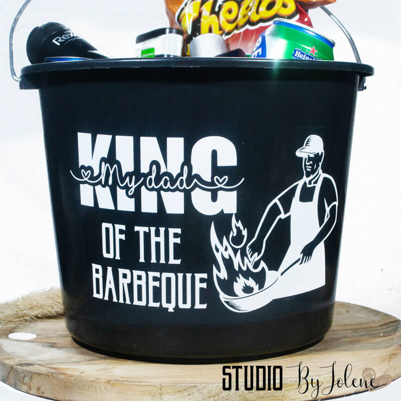 STICKER EMMER    KING OF THE BARBEQUE