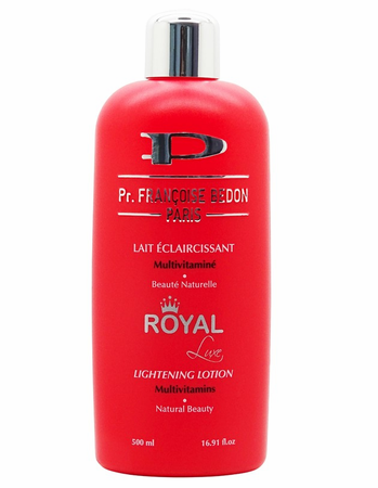 Pr. Françoise Bedon Paris Lait Éclaircisstant Multivitamine Royal Beauté Naturelle Lightening Lotion Natural Beauty (500ml)