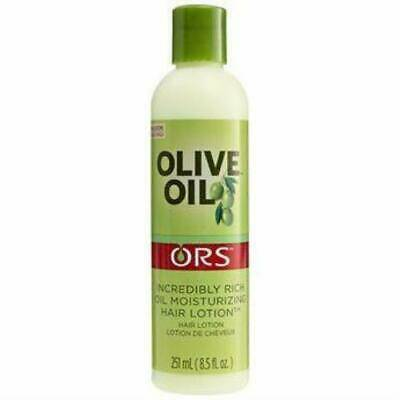 ORS Olive Oil Moisturizing Hair Lotion Infused With Castor Oil For Strengthening (316ml)
