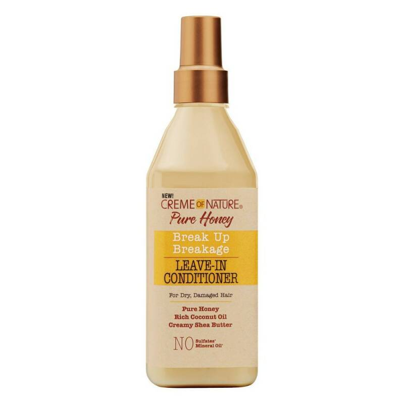 Creme Of Nature Pure Honey Break up Breakage Leave-in Conditioner For Dry Damaged Hair (236.5ml)