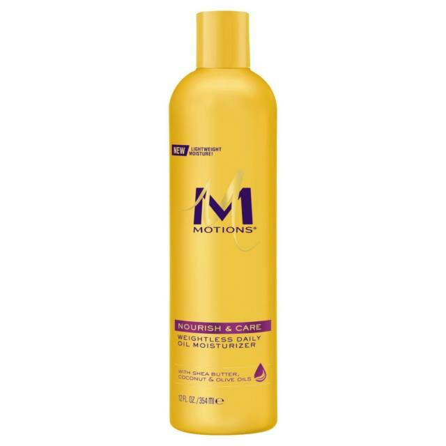 Motions Weightless Daily Oil Nourish & Restore Moisturizer With Sea Butter, Argan & Coconut Oil (355ml)