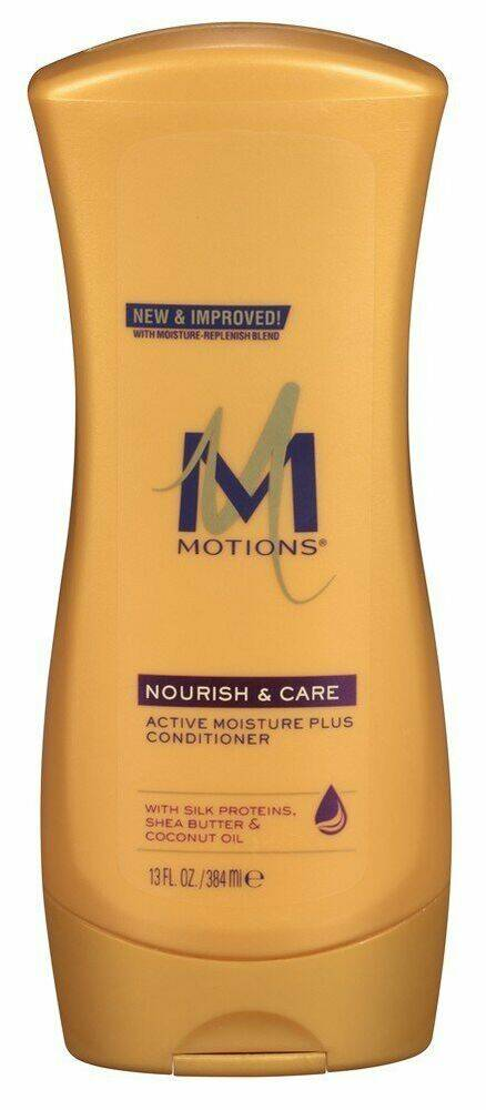 Motions Active Moisture Plus Conditioner With Silk Proteins, Shea Butter & Coconut Oil (384ml)