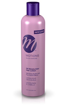 Motions Oil Moisturizer Hair Lotion With Shea Butter & Five Vitamin Blend (384ml)
