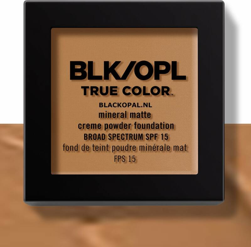 Black Opal Mineral Matte Cream Foundation Truly Topaz (340)