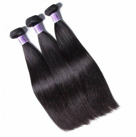 UNice Hair Kysiss Series Brazilian Hair 3 stuks 8A Grade Straight Human Hair Extension