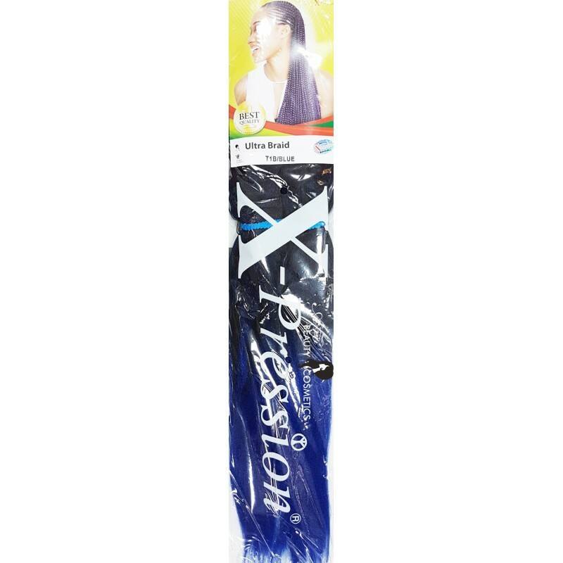 X-Pression Ultra Braid Color T1B/Blue
