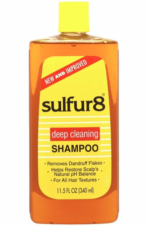 SULFUR8 DEEP CLEANING SHAMPOO 340ML