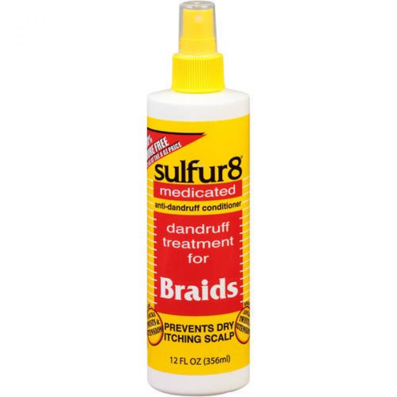 Sulfur8 Medicated Dandruff Treatment for Braids 12oz