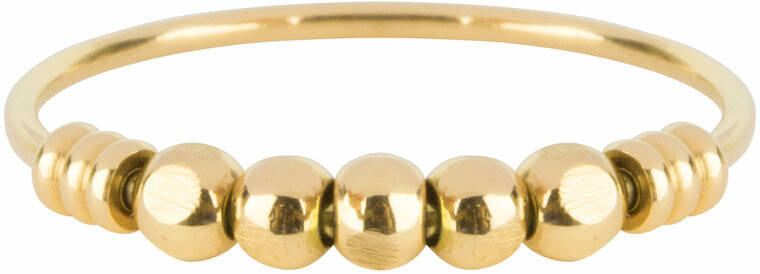 Palm gold ring