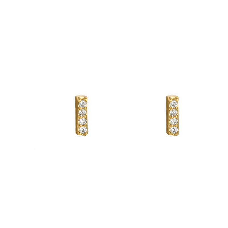 Mini bar studs zirconia