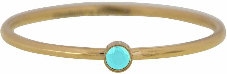Shine bright turquoise gold ring