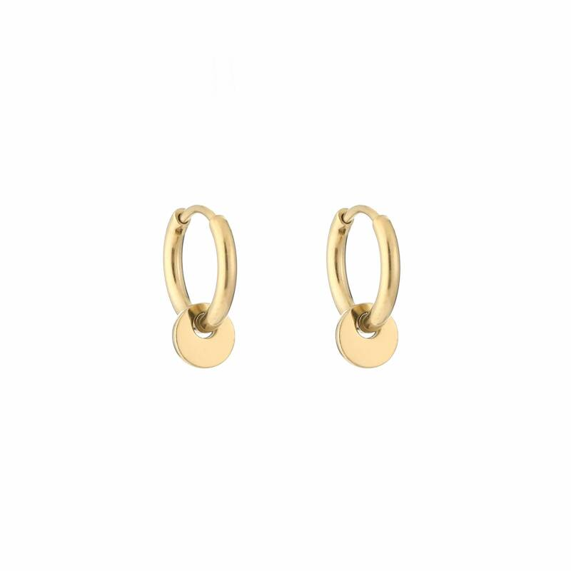 Round small hoops