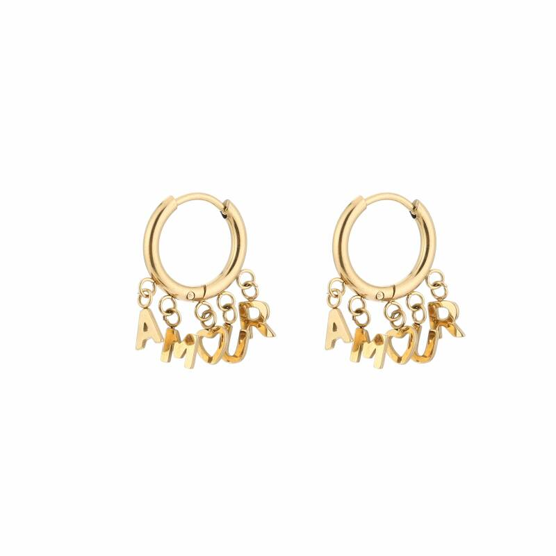 Amour letter hoops