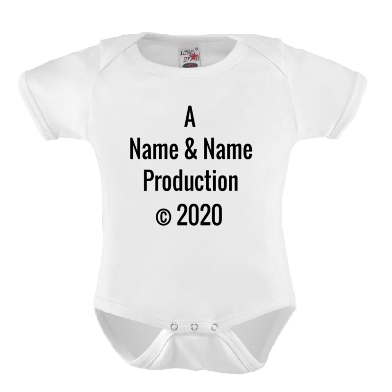 Baby Romper 'A *NAAM* & *NAAM* Production'