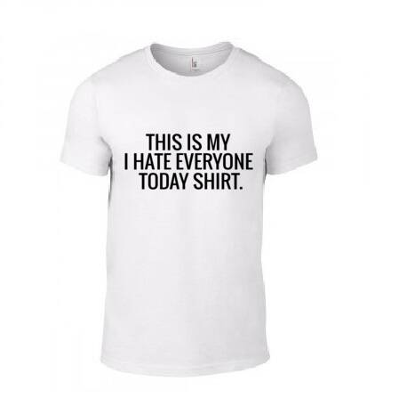 'I Hate Everyone Today' T-Shirt