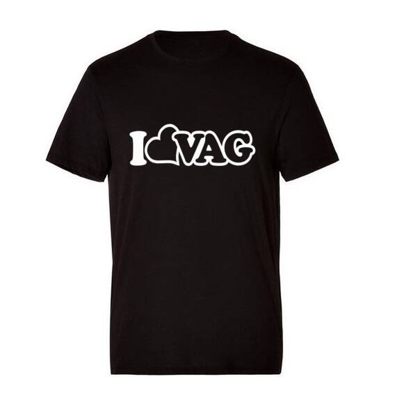 'I LOVE VAG' T-Shirt Glow In The Dark