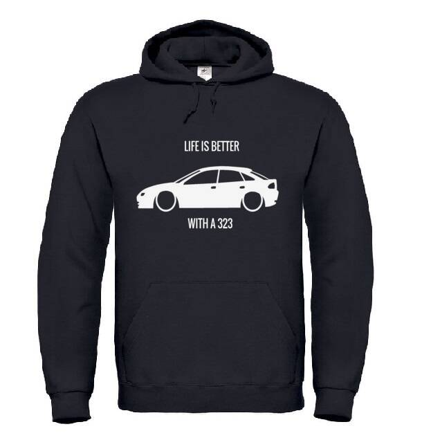 'LIFE IS BETTER WITH A 323' Hoodie
