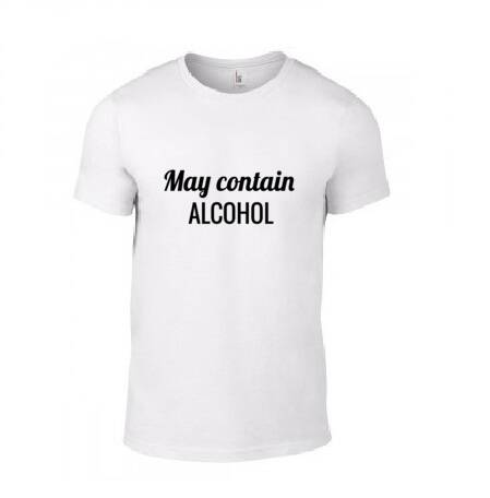 'MAY CONTAIN ALCOHOL' T-Shirt