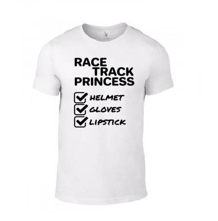 CarGirl 'Race Track Princess Checklist' T-Shirt