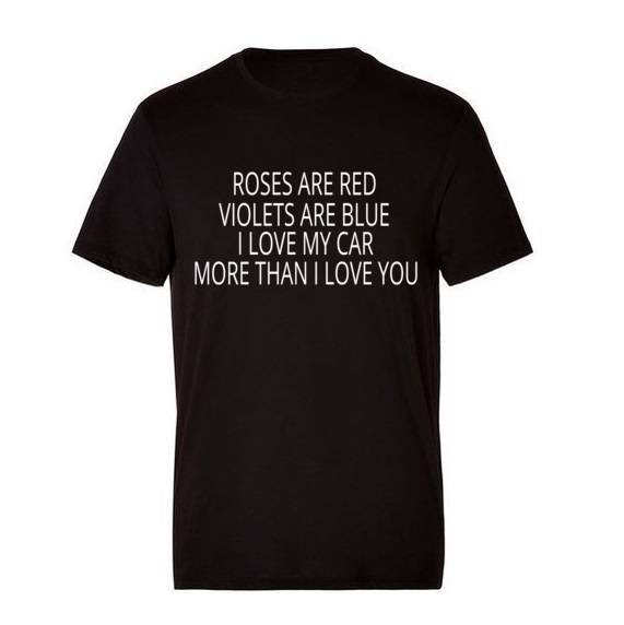 'Roses Are Red Violets Are Blue' T-Shirt
