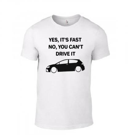 1P 'Yes It's Fast No You Can't Drive It' T-Shirt
