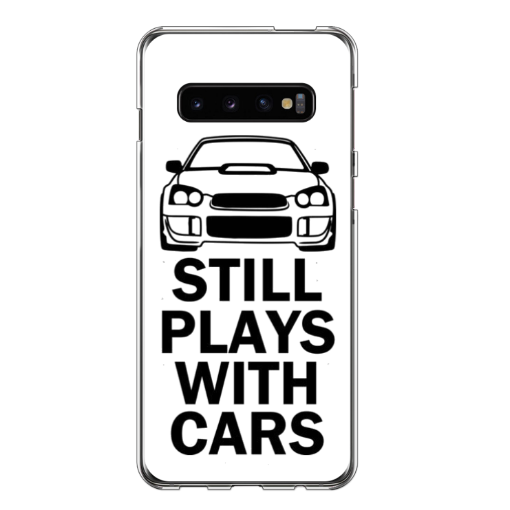 Telefoonhoesje 'Still Plays With Cars'