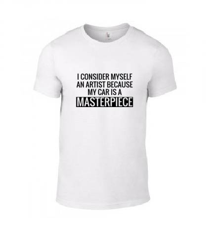 'My Car Is A Masterpiece' T-Shirt