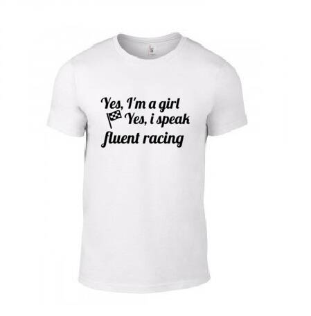 'I Speak Fluent Racing' T-Shirt