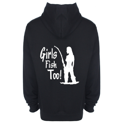 'GIRLS FISH TOO' Hoodie