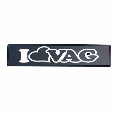 Fun Kentekenplaat 'I LOVE VAG'