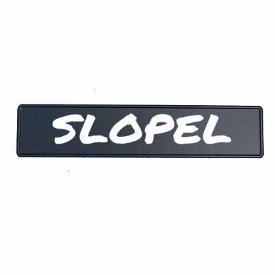 Fun Kentekenplaat 'SLOPEL'