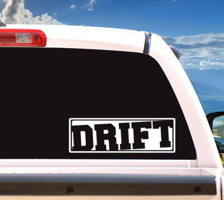 Autosticker 'DRIFT'