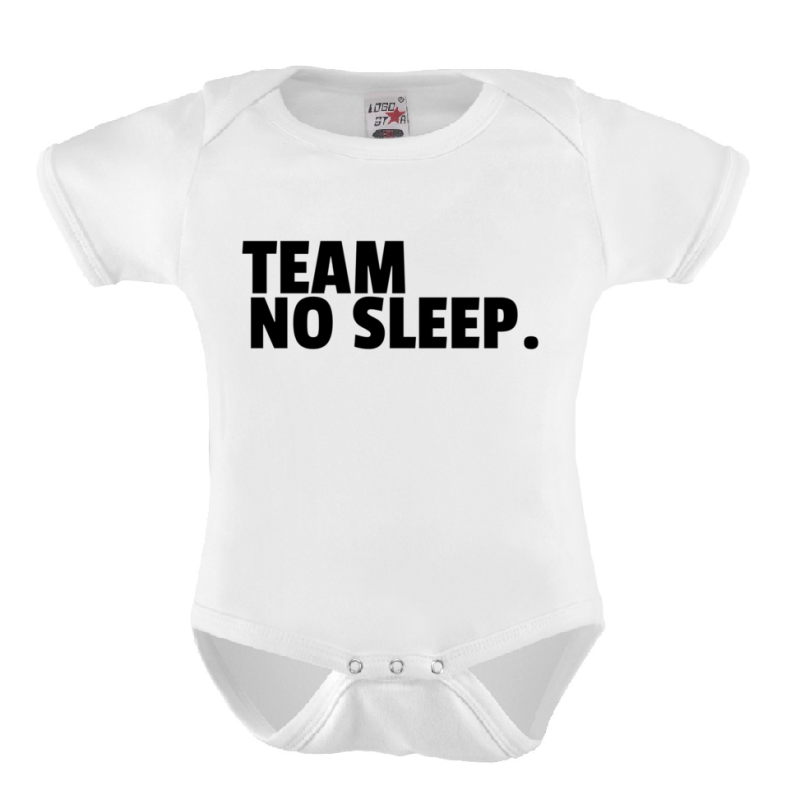 Baby Romper  'TEAM NO SLEEP.'