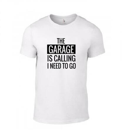 'The Garage Is Calling' T-Shirt