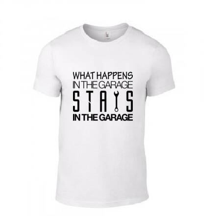 'What Happens In The Garage' T-Shirt